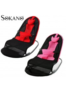 Sokano Multifunctional Premium Baby Rocking Chair with Adjustable Angle and Safety Belt