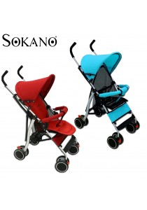 Sokano LWX5 Ultralight Foldable Stroller for Travel and Outdoor Use
