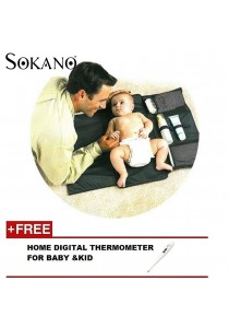 Sokano Portable Diaper Changing Station (Black)