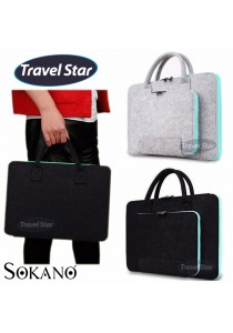 Travel Star Korean Style 15 inches Carrying Bag for Laptop and Tablet