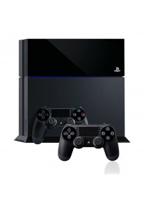 Sony Playstation 4 with 2 DualShock 4 Wireless Controllers -