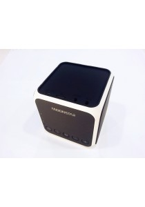 Moonstar Z11 Stylish Cube Speaker Bluetooth Stereo Sound Micro SD Card - Black