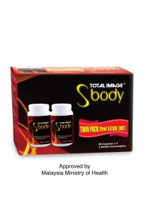[Twin Pack] Total Image S Body 60 capsules x 2 (Slimming)