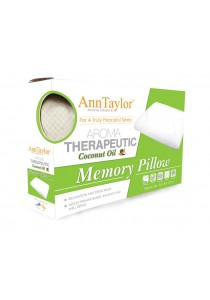 Ann Taylor Aroma Therapeutic Coconut Oil Memory Pillow