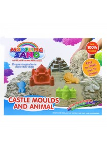 1 KG Kinetic Sand Alive Safety Super Soft Motion Sand With Mold Playset (16 Accessories)