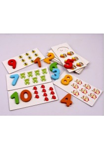123 Numbering Card