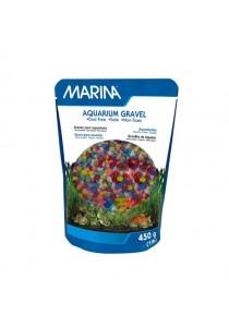 Marina Decorative Aquarium Gravel - Rainbow - 450 g (1 lb)