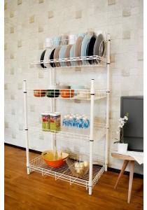 Vetop Storage Kitchen Rack - White