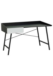nesthouz.com Micke 1 Computer Desk in Black/White Colour
