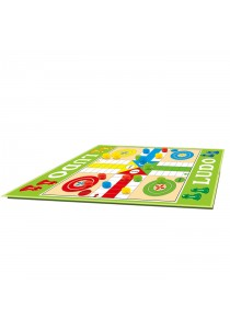 CT Toys 2-in-1 Giant Ludo 4 Players Game (Family Play Mat) 180cm x 160cm