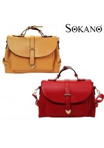 SoKaNo Trendz A101 PU Leather Messenger Bag