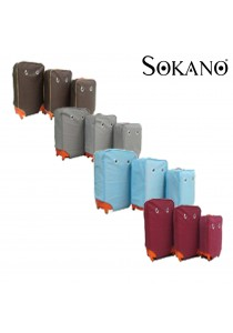 Sokano Googly Eyes 3 in1 Luggage Protective Covers Set