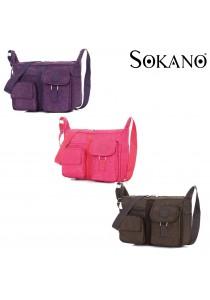 Sokano Trendz CB01 Korean Style Lady Canvas Bag