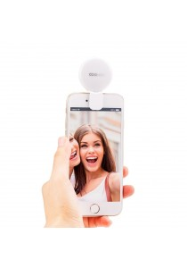 CooWoo Smartphone Selfie Light with USB Cable(Silver)