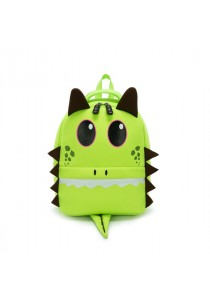 Fashion Children Backpacks Kid Green Dragon Boy Girl School Bags New Book Bags Cartoon Cute Bags
