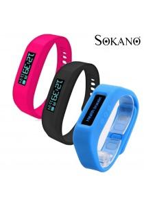 SOKANO Bluetooth Healthy Bracelet Smart Wrist Watch