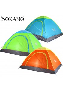 SOKANO 2 Secs Rapid Open 2 People Camping and Outdoor Tent