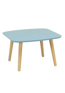 nesthouz.com Banji Low Coffee Table in Natural/Dust Blue Colour