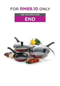 Set of 5 Non Stick Cookware
