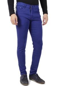 KM Men Casual Pants - Dark Blue