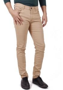 KM Men Casual Pants - Khaki