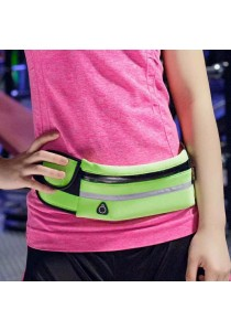 Sport Waterproof Belt Pouch / Waist Pack / Multifunctional Personal Invisible Bag - PINK