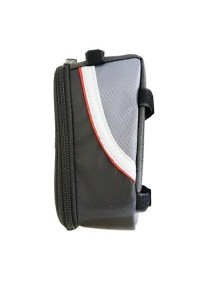 Bicycle Top Tube Smartphone Frame Bag (Red) M