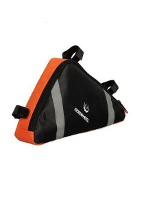 Roswheel Bicycle Cycling Frame Thriathlon Bag Accessories (Orange)