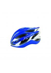 Cronus Adult In-Mold Bicycle Helmet 56-62cm (Biru)