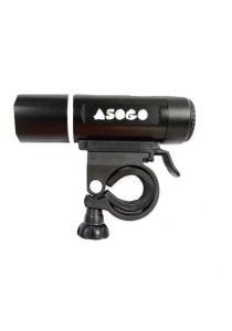 Asogo Multi-Function 3 Watt Alloy Led Bicycle Bike Front Light