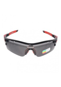 Gammax 1399275-BCS Multipurpose Sunglasses Set with Polarized Lens (Red)