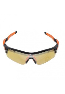 Gammax 1399275-BCS Multipurpose Sunglasses Set with Polarized Lens (Orange)