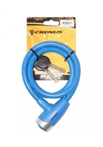 Cronus E-Key Safety Cable Lock Bicycle Accessories (Blue)