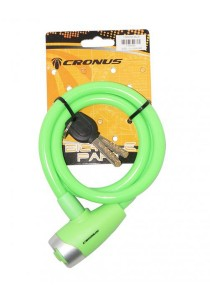 Cronus E-Key Safety Cable Lock Bicycle Accessories (Green)