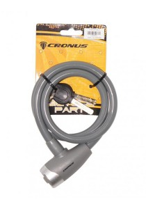 Cronus E-Key Safety Cable Lock Bicycle Accessories (Grey)