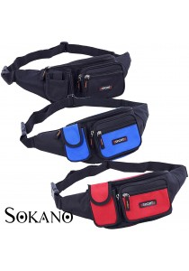 Sokano Trendz Waist and Sling Pouch