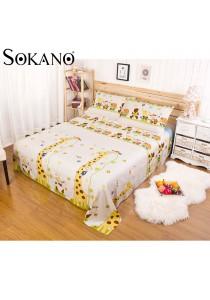 Sokano Gudie Cotton Bedding Sheet 4-in-1 Set