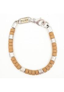 Brown Color Alloy Bracelet 5cm - BC149 (Brown)