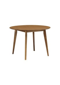 nesthouz.com Arthur 105cm Round Dining Table in Cocoa Colour