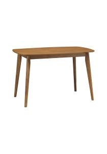 nesthouz.com Arthur 120cm Dining Table in Cocoa Colour
