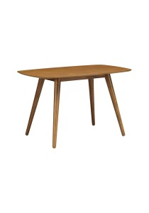 nesthouz.com Josef 120cm Dining Table in Cocoa Colour