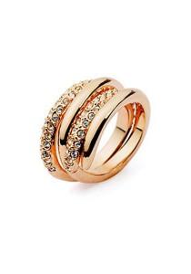 Italina Crystal Gold Ring (Size 16)
