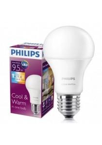 6 Pcs (per box) Original Philips Scene Switch LED Bulb 9.5W 2 in 1 Colour E27 (Malaysia Warranty)