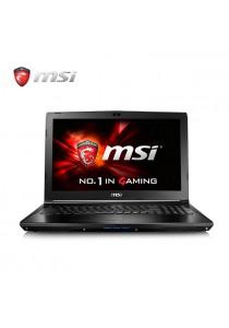 MSI GL62M 7RD-054MY 15.6˝ GAMING LAPTOP ( i7-7700HQ/GTX1050 2G/8GB/1T/WIN 10 )