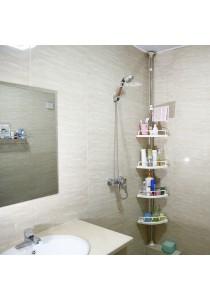 ~READY STOCK~ Home Office 4-tier Adjust Toilet Storage Bathroom Shelf Organiser Rack