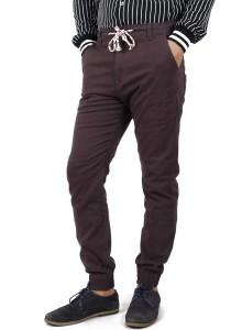 KM Men Slim Fit Jogger Pants - Brown