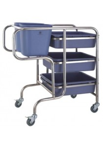 ZELEX - 5P S/S CLEARING TROLLEY