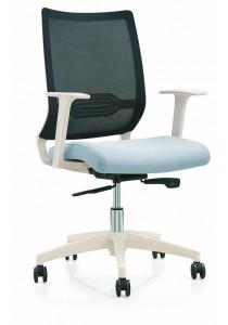 Sam SM Office Chair Medium Back EE-16032B-1 (Black)