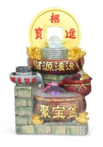 Feng Shui Water Fountain Home Decoration Gift 1608
