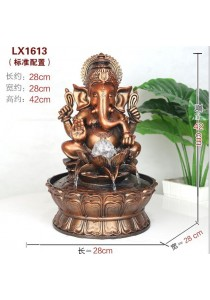 Ganesha Feng Shui Water Fountain 1613
